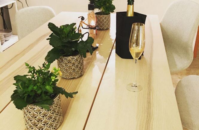 Champagne i anledning af årets udgang