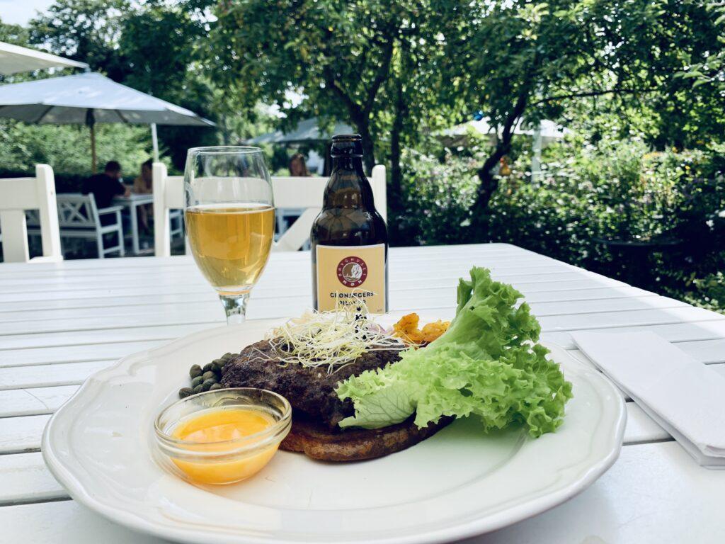 Lollegaard restaurant på Nyord serverer god mad